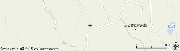 山形県最上郡大蔵村南山839周辺の地図