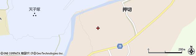 山形県尾花沢市押切271周辺の地図