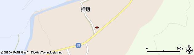 山形県尾花沢市押切192周辺の地図