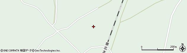 宮城県大崎市田尻沼部(蝦夷塚)周辺の地図