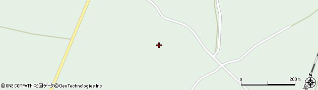 宮城県大崎市田尻沼部(御仮屋沢)周辺の地図