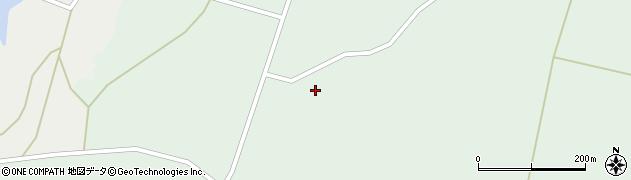 宮城県大崎市田尻沼部(袋ケ沢)周辺の地図