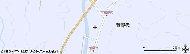 山形県鶴岡市菅野代(丙)周辺の地図