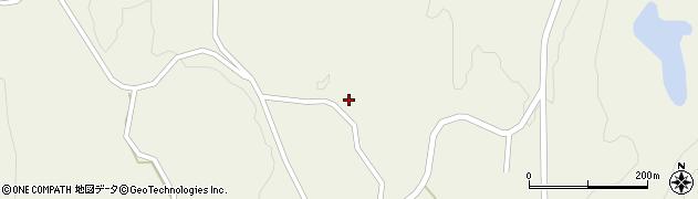 山形県最上郡大蔵村南山849周辺の地図