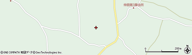 宮城県大崎市田尻蕪栗(真角)周辺の地図