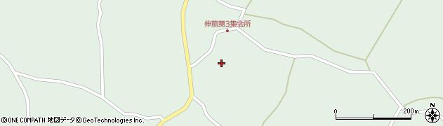宮城県大崎市田尻蕪栗(伸萠西)周辺の地図