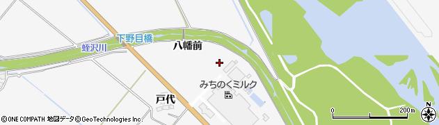 宮城県大崎市岩出山下野目(境東)周辺の地図