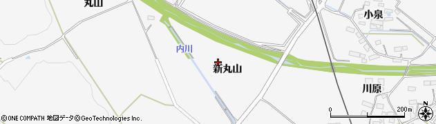 宮城県大崎市岩出山下野目(新丸山)周辺の地図