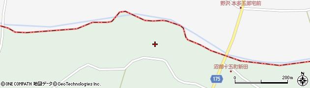 宮城県大崎市田尻沼部(六月坂)周辺の地図