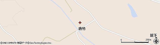 宮城県大崎市岩出山南沢(唐竹)周辺の地図