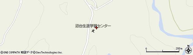 山形県最上郡大蔵村南山1447周辺の地図