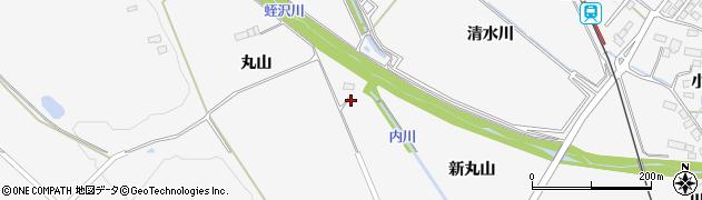 宮城県大崎市岩出山下野目(下丸山)周辺の地図