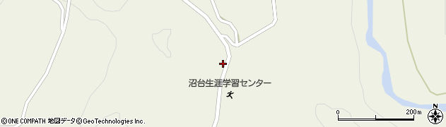山形県最上郡大蔵村南山1389周辺の地図