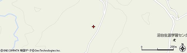 山形県最上郡大蔵村南山784周辺の地図