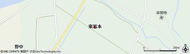 山形県鶴岡市東岩本周辺の地図