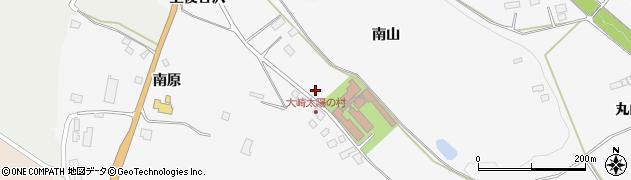 宮城県大崎市岩出山下野目(南山)周辺の地図