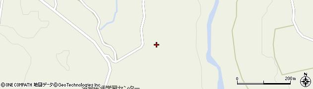 山形県最上郡大蔵村南山1429周辺の地図