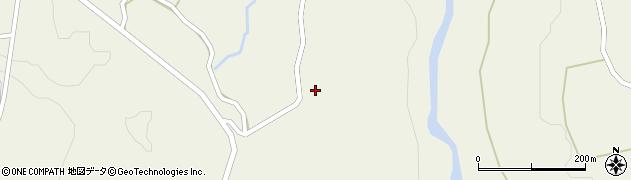 山形県最上郡大蔵村南山1416周辺の地図