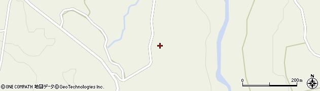 山形県最上郡大蔵村南山1418周辺の地図