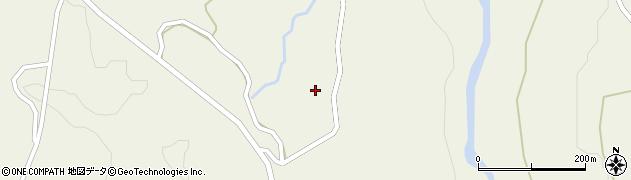 山形県最上郡大蔵村南山1398周辺の地図