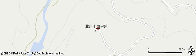 山形県東田川郡庄内町立谷沢西山1周辺の地図