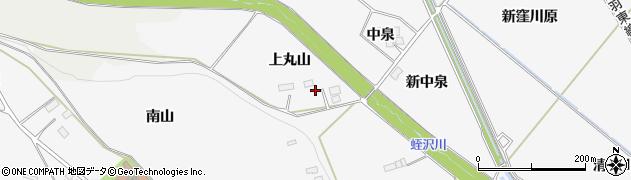 宮城県大崎市岩出山下野目(上丸山)周辺の地図