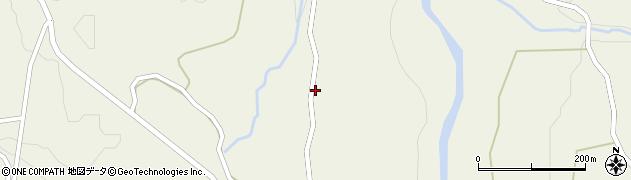 山形県最上郡大蔵村南山1419周辺の地図