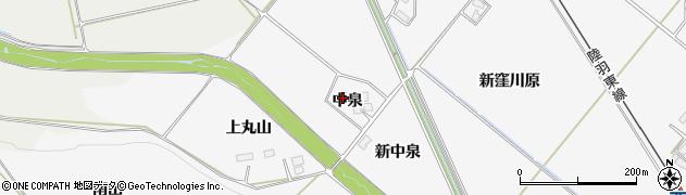 宮城県大崎市岩出山下野目(中泉)周辺の地図