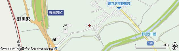 山形県尾花沢市野黒沢95周辺の地図