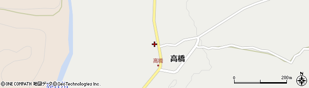 山形県尾花沢市高橋43周辺の地図