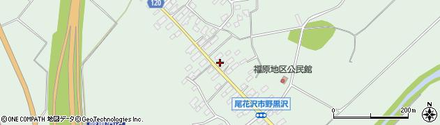 山形県尾花沢市野黒沢224周辺の地図