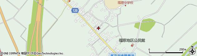 山形県尾花沢市野黒沢217周辺の地図