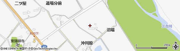 宮城県大崎市岩出山下野目(沼端)周辺の地図