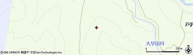 山形県鶴岡市戸沢(小早田)周辺の地図