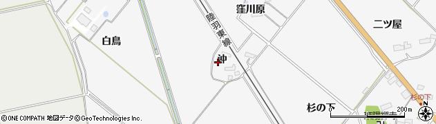 宮城県大崎市岩出山下野目(沖)周辺の地図
