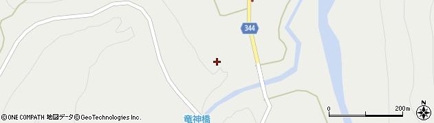 山形県東田川郡庄内町立谷沢玉川周辺の地図