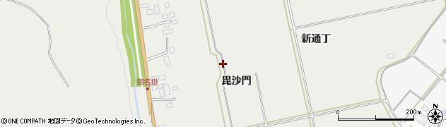 宮城県大崎市岩出山(毘沙門)周辺の地図