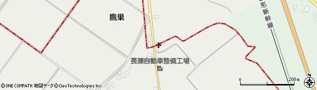 山形県尾花沢市芦沢995周辺の地図