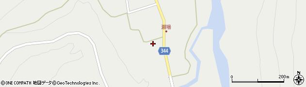 山形県東田川郡庄内町立谷沢瀬場4周辺の地図