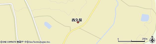 宮城県大崎市古川雨生沢(西久保)周辺の地図