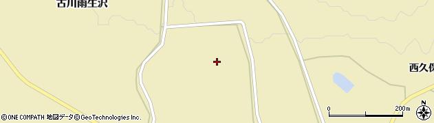 宮城県大崎市古川雨生沢(甲逆沢)周辺の地図
