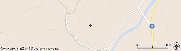 山形県尾花沢市富山矢越周辺の地図