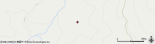 山形県尾花沢市高橋中刈周辺の地図