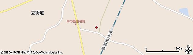 宮城県栗原市高清水東浦周辺の地図