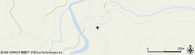 山形県最上郡大蔵村南山1649周辺の地図