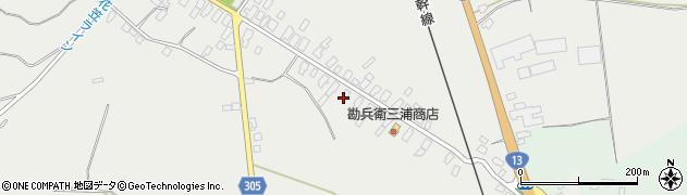 山形県尾花沢市芦沢66周辺の地図
