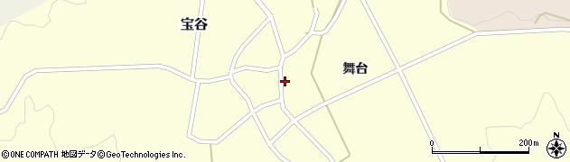 山形県鶴岡市宝谷(舞台)周辺の地図