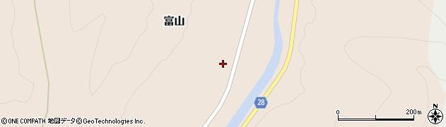 山形県尾花沢市富山31周辺の地図