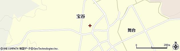 山形県鶴岡市宝谷(菖蒲池)周辺の地図