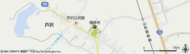 山形県尾花沢市芦沢136周辺の地図